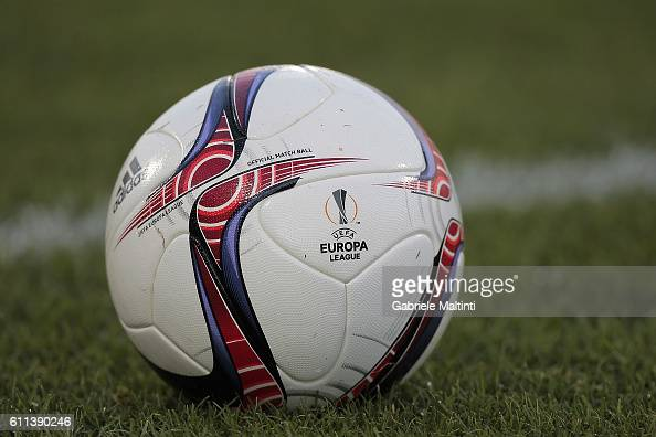 The ball of the match during the UEFA Europa League match between ACF Fiorentina and Qarabag FK at Artemio Franchi on September 29 2016 in Florence
