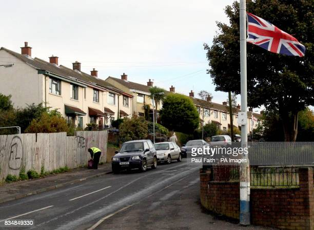 The Ballysillan area of Belfast where a man died at the weekend