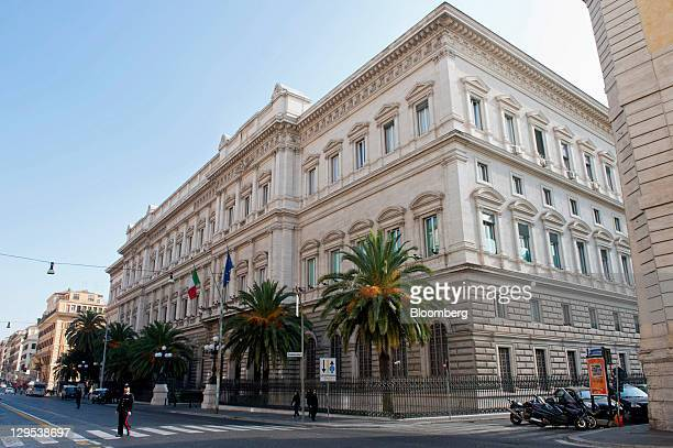 The Banca d'Italia Italy's central bank is seen in Rome Italy on Tuesday Oct 18 2011 Italy has a 'deep need to reactivate growth' and must do more to...