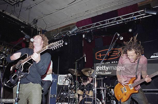 The band 'Boy Sets Fire' play live at the Hanover Grand London circa 2006