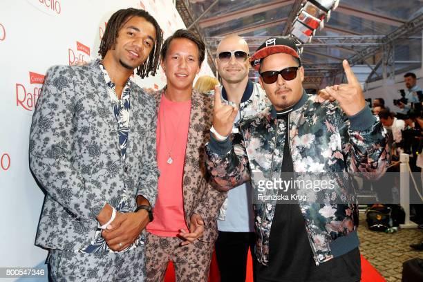 The band Culcha Candela attends the Raffaello Summer Day 2017 to celebrate the 27th anniversary of Raffaello on June 23 2017 in Berlin Germany