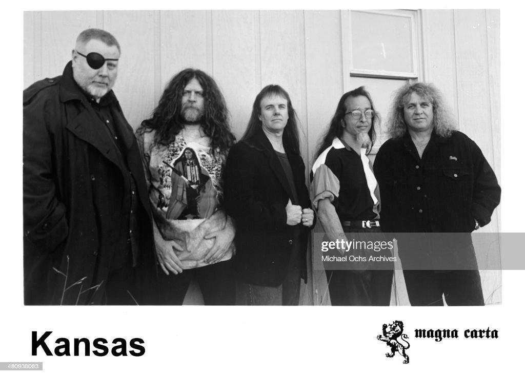 The band Kansas circa 1990
