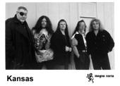 The band Kansas circa 1990