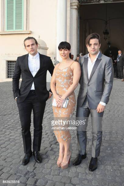 The Band Perry attend the Dinner and Entertainment at Palazzo Colonna as part of the 2017 Celebrity Fight Night in Italy Benefiting The Andrea...