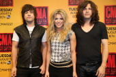 The Band Perry attends the 2014 CMA Festival on June 6 2014 in Nashville Tennessee