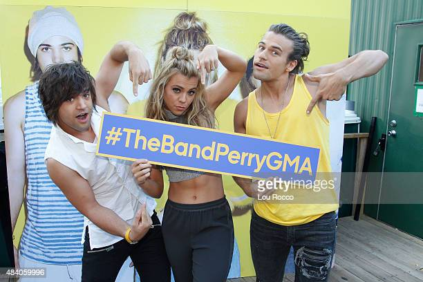 AMERICA The Band Perry featuring siblings Neil Perry Kimberly Perry and Reid Perry perform in Central Park as part of the GMA Summer Concert Series...