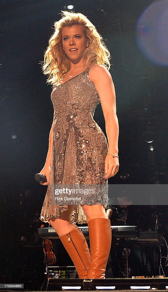 The Band Perry's, Kimberly Perry performs during the 2013 CMA Music Festival on June 9, 2013 in Nashville, Tennessee.