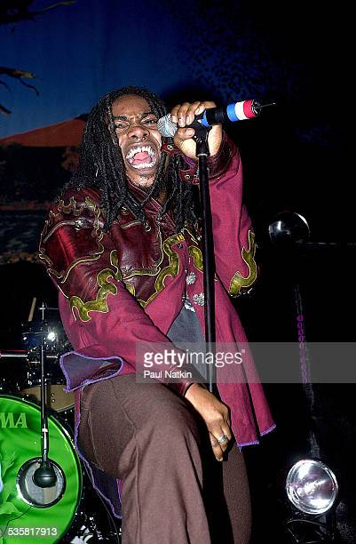 The band Sevendust performing Chicago Illinois December 7 2001