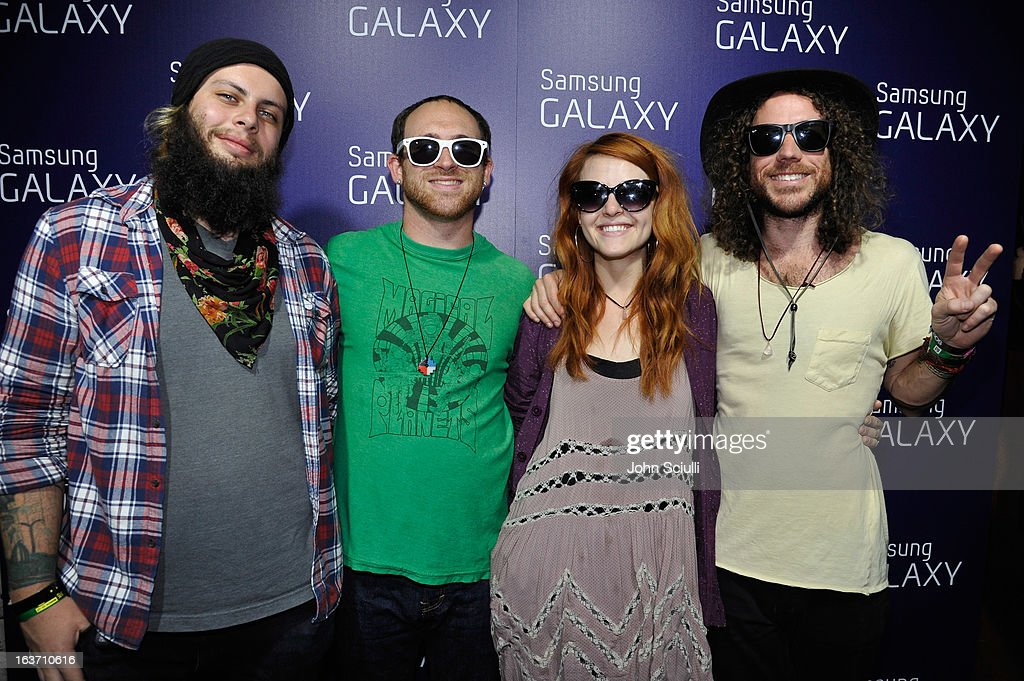 The band The Mowgli's attends The Universal Music Group cocktail party hosted by Samsung Galaxy Club at SXSW on March 14, 2013 in Austin, Texas.