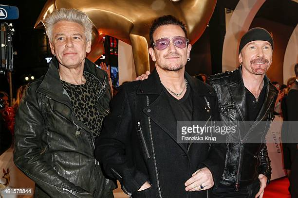 The Band U2 arrive at the Bambi Awards 2014 on November 13 2014 in Berlin Germany