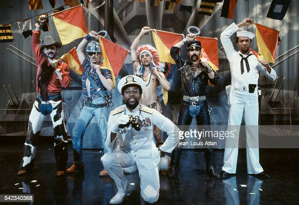 The band Village People are in New York to present their new record