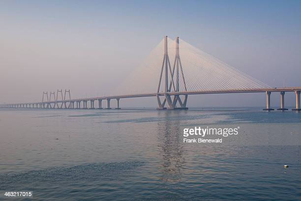 The BandraWorli Sea Link officially called Rajiv Gandhi Sea Link is a cablestayed bridge with prestressed concretesteel viaducts on either side that...