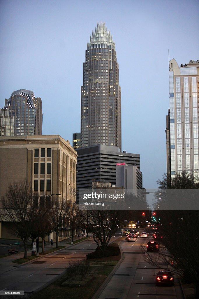 in Charlotte, North Carolina, U.S., on Friday, Feb. 17, 2012. North ...