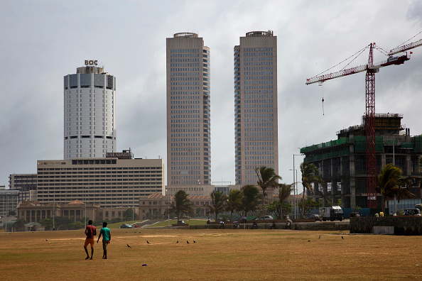 of Ceylon headquarters top leftthe twin towers of the Colombo World ...