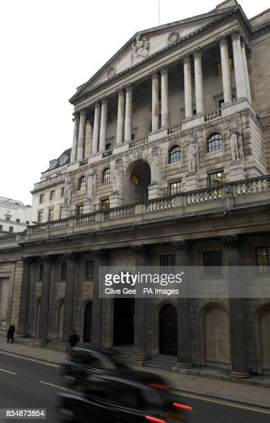 The Bank of England in London which today cut interest rates by 15% in its most dramatic attempt yet to rescue an economy on the brink of recession
