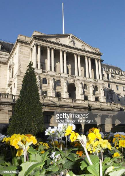 The Bank of England in Threadneedle Street in the City of London The Bank of England is expected to leave interest rates unchanged today as it weighs...