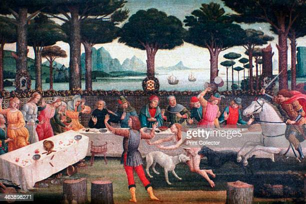 'The Banquet in the Pine Forest' 14821483 From the collection of the Museo Nacional del Prado Madrid