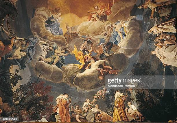 The Banquet of the Gods Il convito degli dei by Giuseppe Maria Crespi known as lo Spagnuolo 1691 1706 17th Century fresco