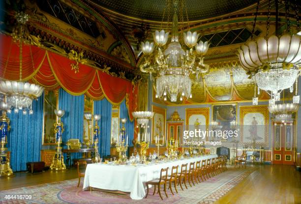 The Banqueting Hall Royal Pavilion Brighton East Sussex 1960s The Pavilion was originally built in 17861787 by Henry Holland for King George IV then...
