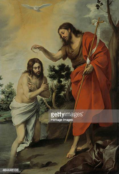 The Baptism of Christ 1655 Found in the collection of the Staatliche Museen Berlin