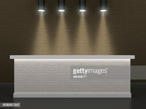 The bar made of brick 2 : Stockfoto