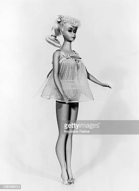 The Barbie Doll In Nightgown In 1963