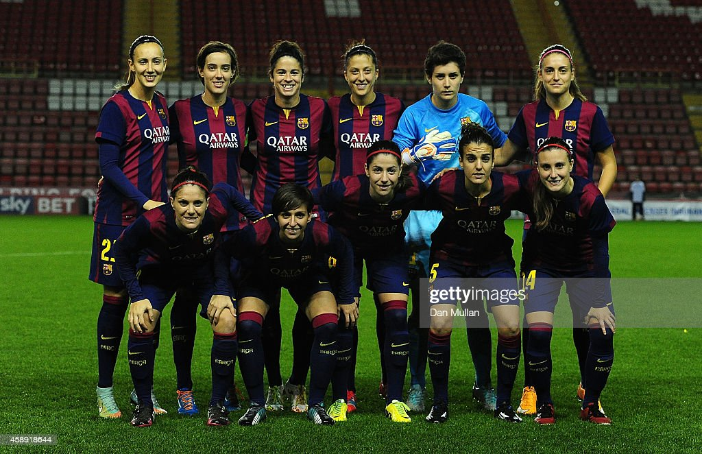 Bristol academy women v barcelona ladies uefa women 39 s champions league round of 16 getty images - Forlady barcelona ...