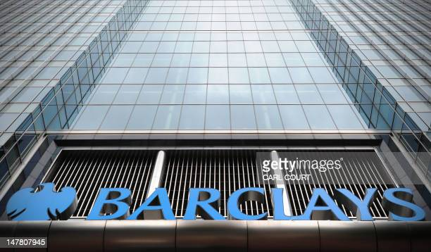 The Barclays bank headquarters is pictured in Canary Wharf in east London on July 3 2012 Barclays on Tuesday said that its chief operating officer...