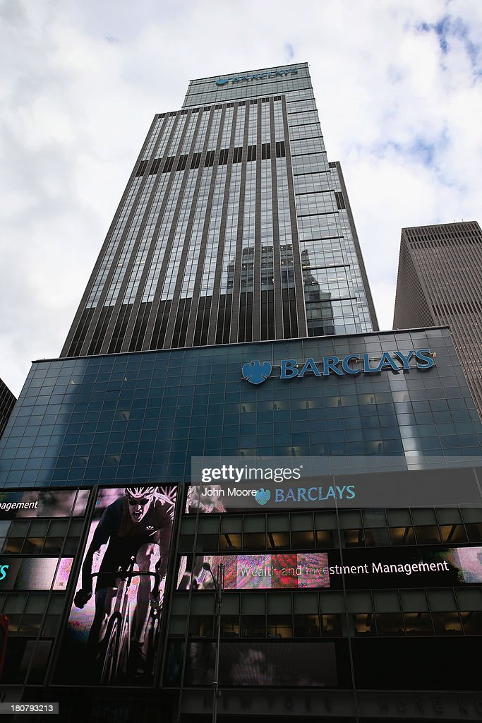 The Barclays building, formerly the Lehman Brothers headquarters, towers over Midtown Manhattan on September 16, 2013 in New York City. The collapse of Lehman in September 2008 triggered the financial crisis now known as the Great Recession. Five years after the fall of Lehman, Wall Street has more than recovered its losses, although unemployment nationwide remains high.