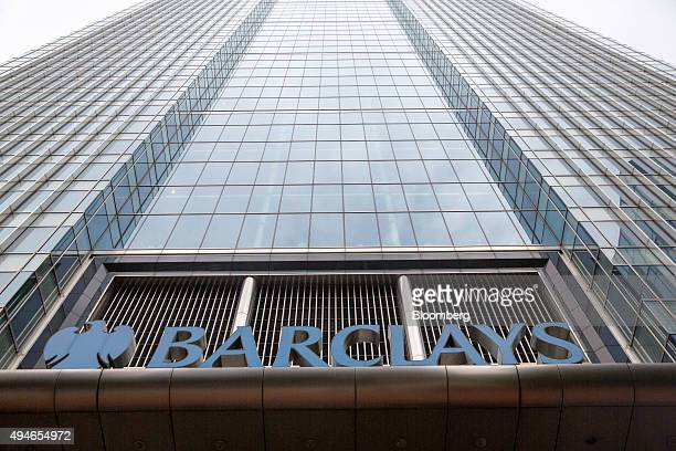 The Barclays Plc headquarters sits in the Canary Wharf business financial and shopping district of London UK on Wednesday Oct 28 2015 Within minutes...