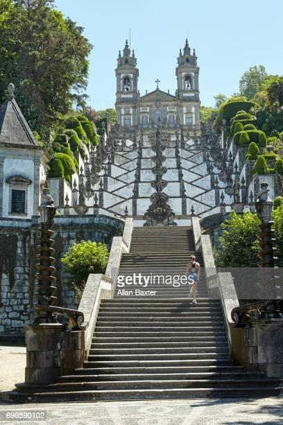 The baroque 'Bom Jesus do Monte' in Braga