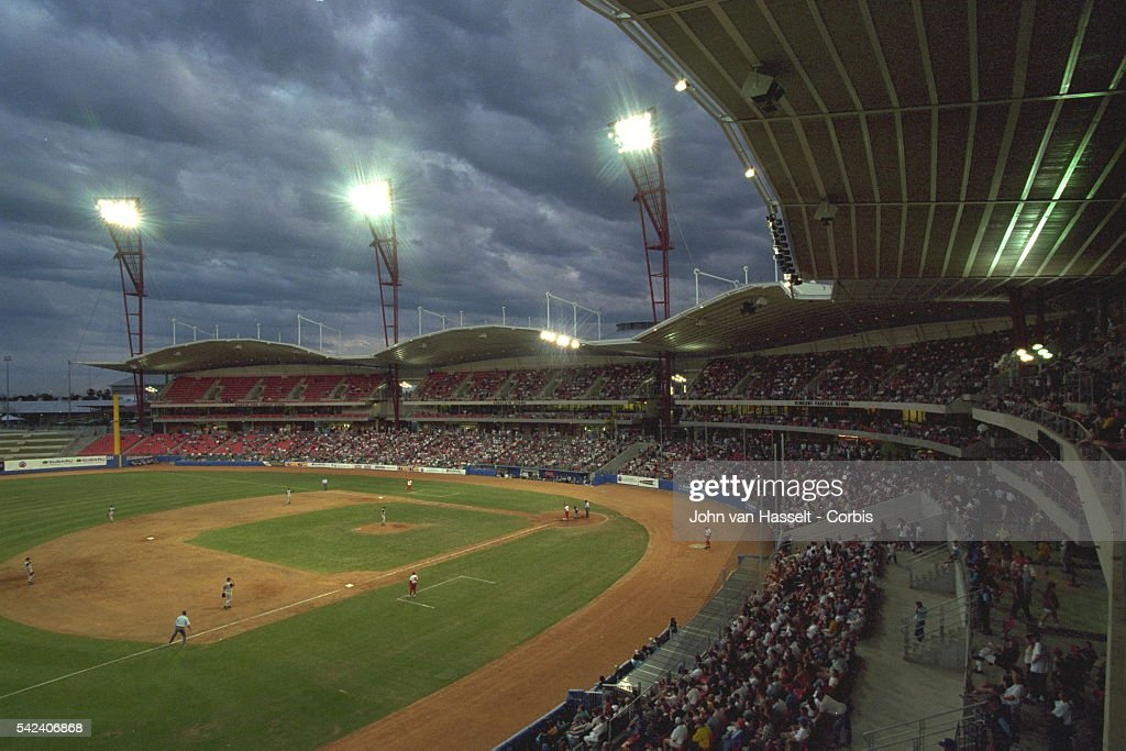 The Baseball Stadium Is In Homebush Bay Olympic Park