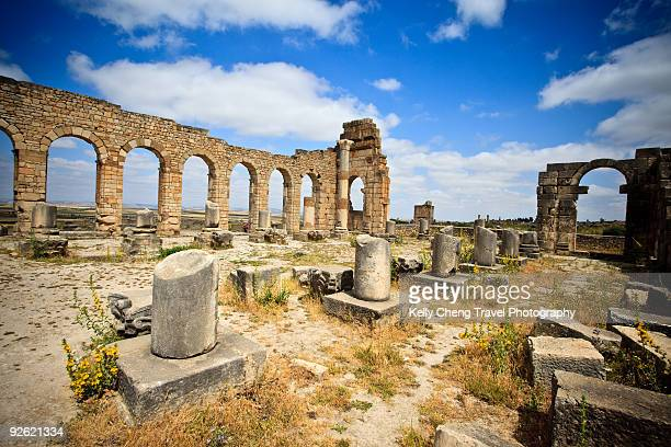 The basilica at Volubilis