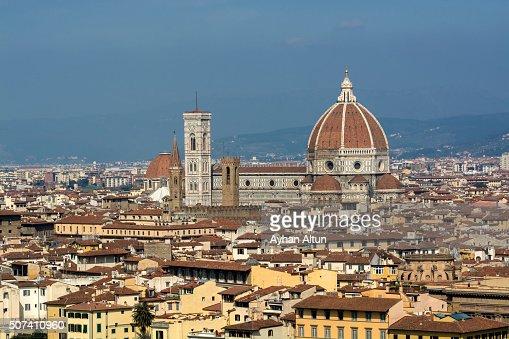 The Basilica di Santa Maria del Fiore in Florence,Tuscany,Italy