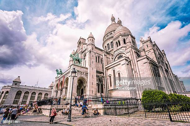 The Basilica of Sacre Coeur in Montmartre, Paris