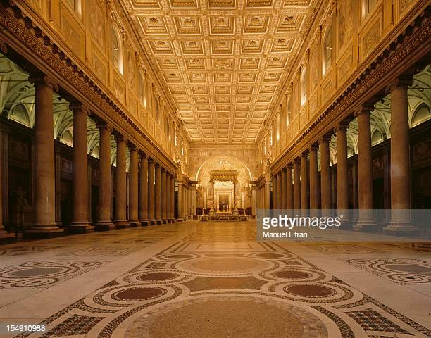 The Basilica of Santa Maria Maggiore in Rome is one of the four major basilicas Property of the Vatican it is the oldest Roman church devoted to the...
