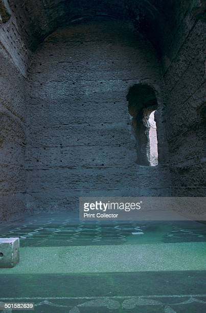 The baths of Caracalla in Rome 3rd century