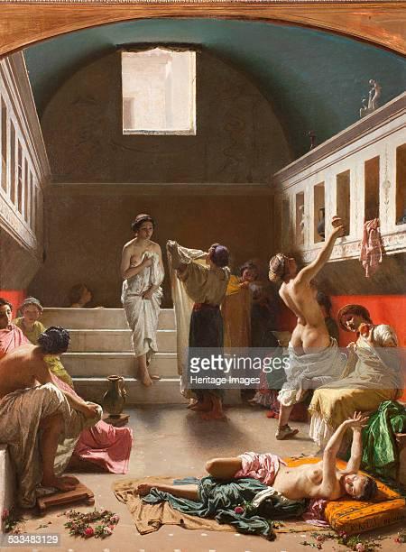 The Baths of Pompeii 1861 Found in the collection of Fondazione Balzan Milano