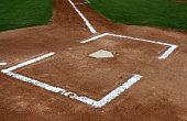 The Batters Box of a Baseball Field
