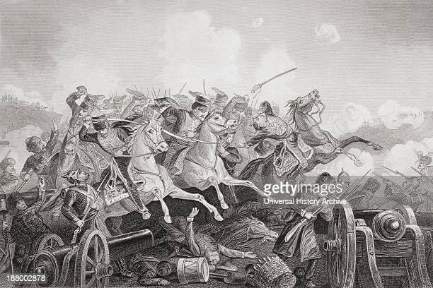 The Battle Of Balaclava Haro Prii Crimea 25 October 1854 Charge Of The Light Brigade From The Age We Live In A History Of The Nineteenth Century