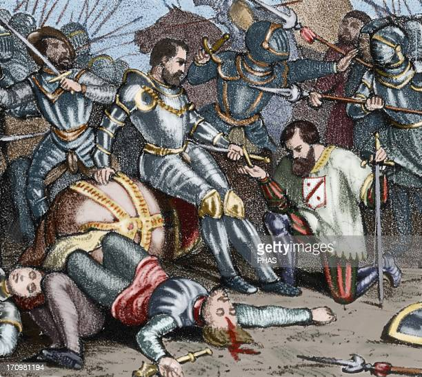 The battle of Pavia Held on February 24 1525 between the French army under King Francis I and GermanSpanish troops of Emperor Charles V who were the...