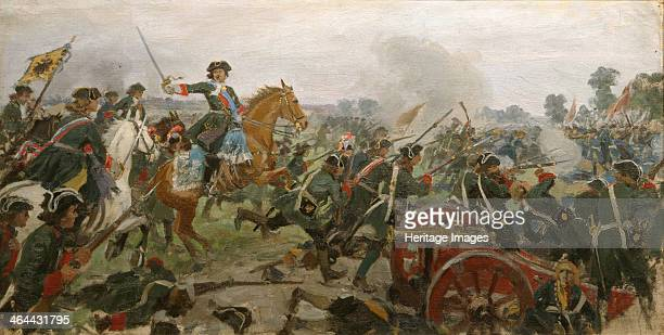 The Battle of Poltava From a private collection