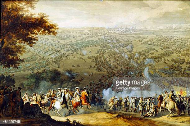 The Battle of Poltava in 1709' 1724 Larmessin Nicolas Found in the collection of the Regional Art Gallery Taganrog