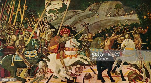 battle of san romano Uccello's battle of san romano consists of three paintings (the central one being  in florence, the other two are in the national gallery in london and the louvre).