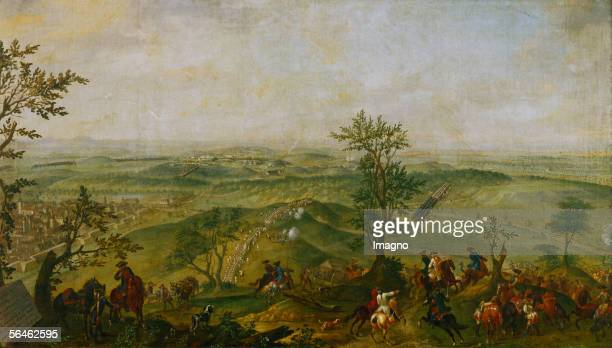The Battle of Teplitz during the SevenYears War between Austria and Prussia between Empress Maria Theresia and King Friedrich II over the possession...