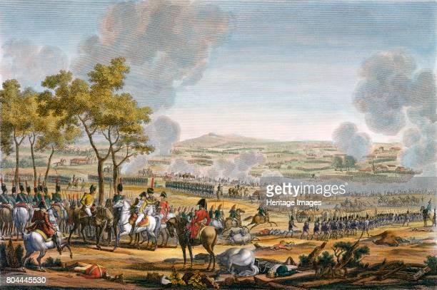 The Battle of Wagram Austria 7th July 1809 Napoleon defeated the Austrians at Wagram forcing them to sue for peace four days later and bringing an...
