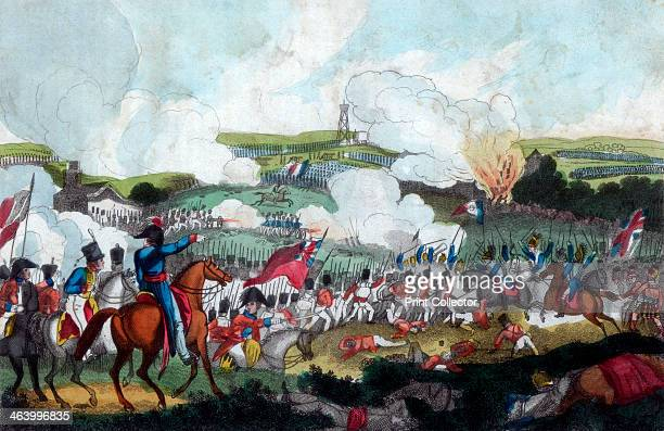 The Battle of Waterloo 1815 Featured is the moment when the French Cuirassiers were surrounded by the 19th Regiment and Scots Greys