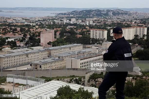The Baumettes Prison In Marseille Marseille 10 mai 2009 la prison des Baumettes Pendant la grève des personnels pénitentiaires 'Paris Match' a...