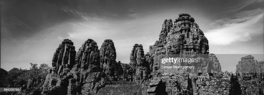 The Bayon temple at Angkor Wat
