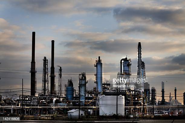 The Baytown Exxon gas refinery produces the more processed oil than any other facility in the United States on March 23 2006 in Baytown TX